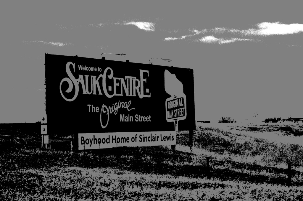 Rural scene, Sauk Centre