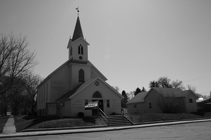 A church turned thrift store.