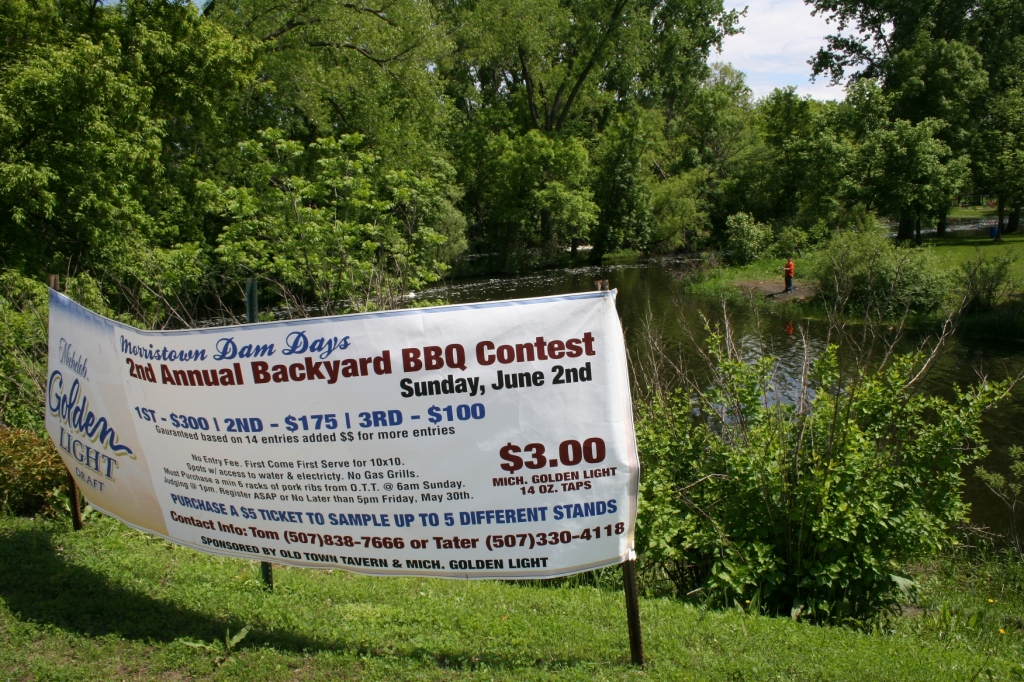 Among Sunday events is the 2nd annual Amateur Backyard BBQ Contest, beginning at 1 p.m. in the park by the river. You can sample five BBQed items for $5.