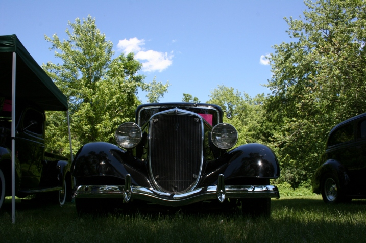 a 1930s Ford owned, if I remember correctly, by Kurt's father-in-law.