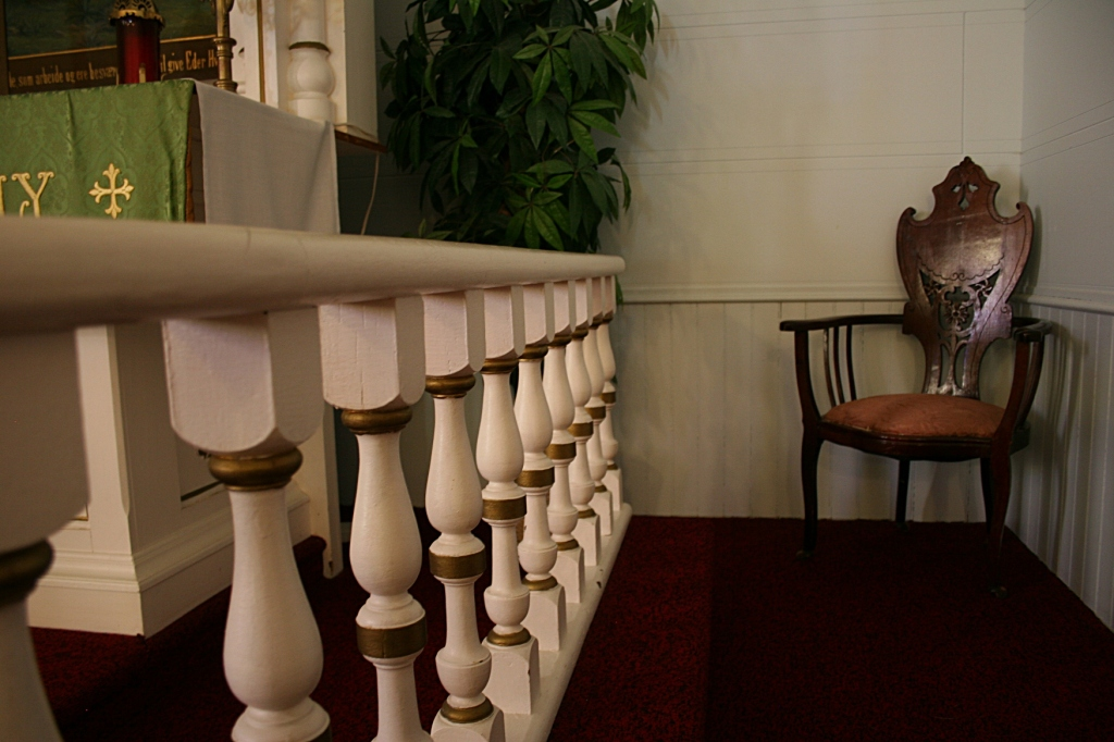 Or how many pastors have occupied this chair.