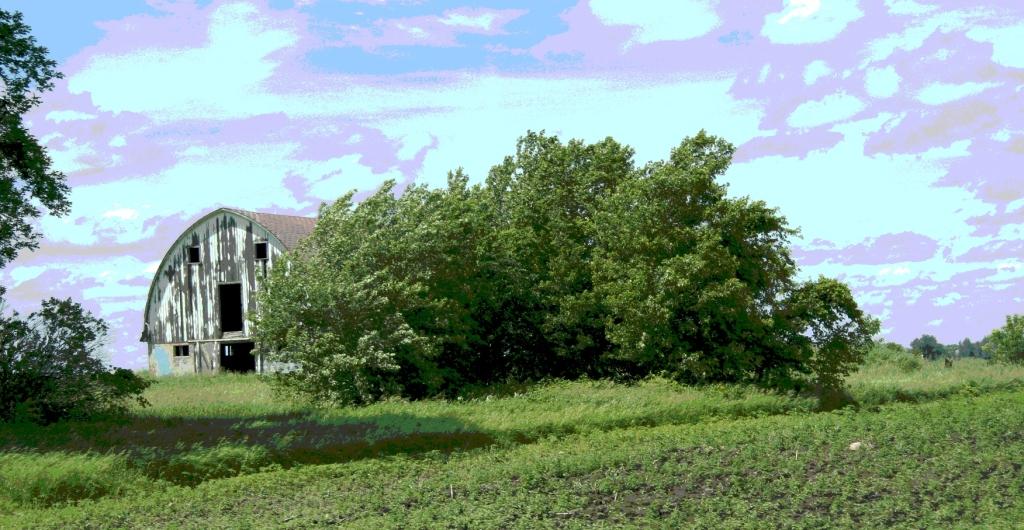 In Merton Township, Steele County, Minnesota.