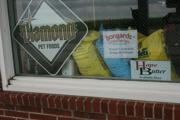 Krause Feeds & Supplies in Hope advertised the availability of Hope butter and Bongards cheese. File photo.