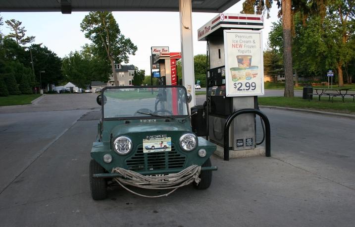 A 1969 Mini Moke