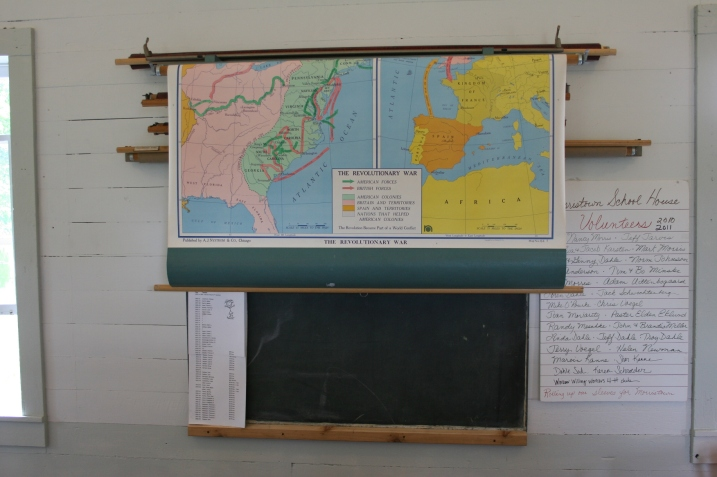 There's something about an old school map that takes me back to Vesta Elementary School, my childhood school.