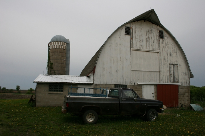 The beautiful barn on Barb and Bob's 100-year-old plus family farm.
