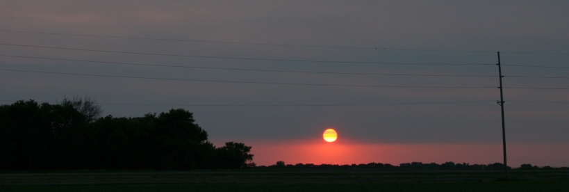 Sunset on the prairie 2
