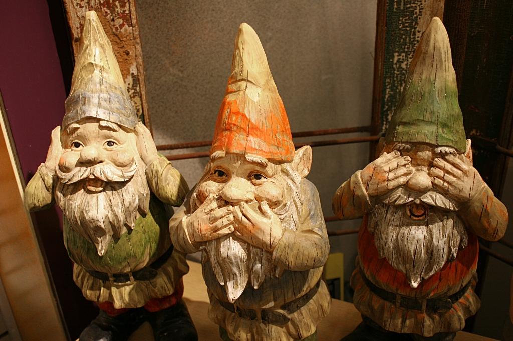 You'll find an abundance of trolls/gnomes.