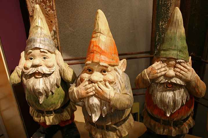 You'll find an abundance of trolls/gnomes.