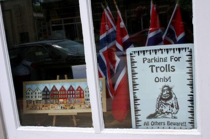 If you're of Norwegian ancestry, which I'm not, you'll especially enjoy Decorah. Be ware the trolls and gnomes.