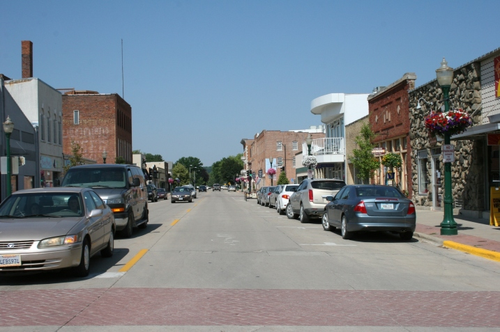 So much to see along Decorah's downtown city streets.