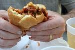 Fourth, sandwich andbeer
