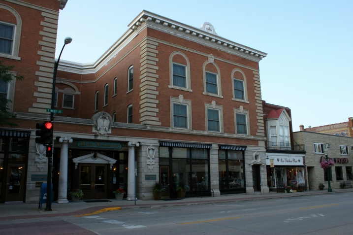 Hotel Winneshiek is conveniently located in the heart of historic downtown Decorah.