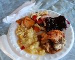Reunion, plated food