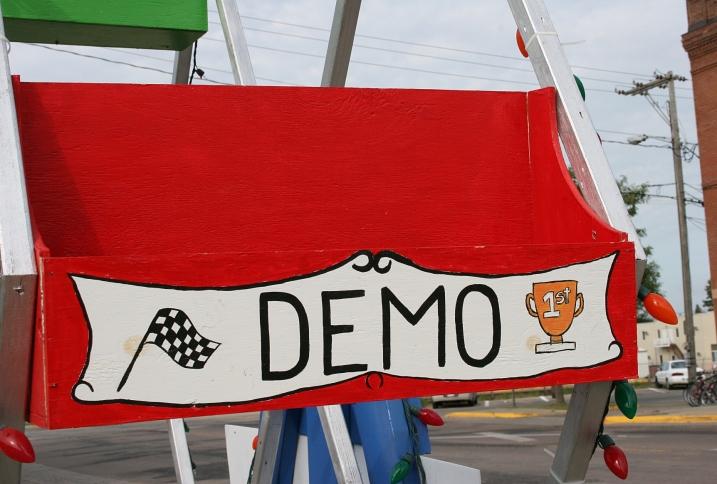Fair, demo chair