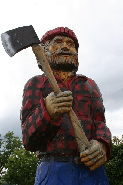 This would be lumberjack Paul Bunyan.