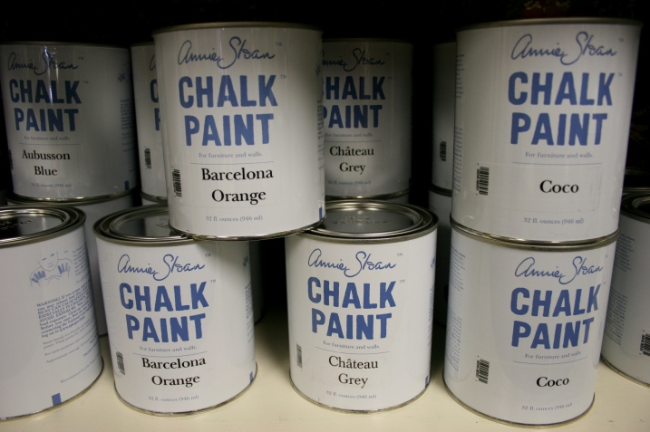 That magical Annie Sloan Chalk Paint.