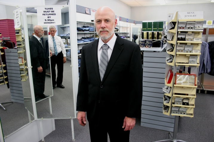 Randy received attentive personal service from the minute he walked into St. Clair's for Men.