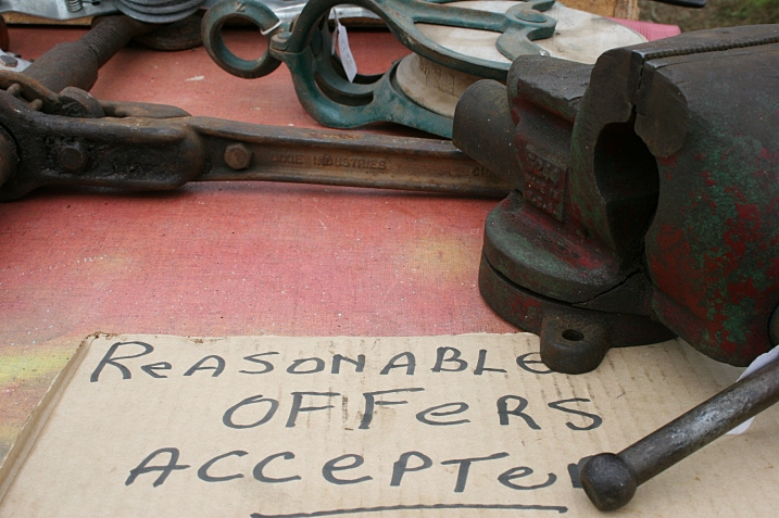 Oh, how I loved to twirl the handle on my dad's vise grip until I tightened something, maybe a block of wood, in place.