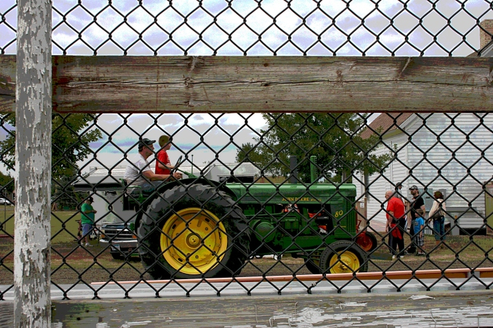 Passing a love of tractors on to the next generation.