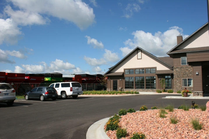 Luverne, Minnesota's newest hotel, the GrandStay, 908 South Kniss Avenue.