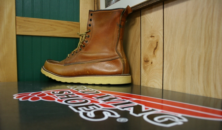 The store carries the ever popular Red Wing brand of shoes made in Red Wing, Minnesota.