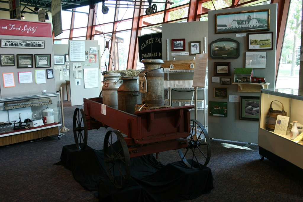 Just another view of a portion of the exhibit.