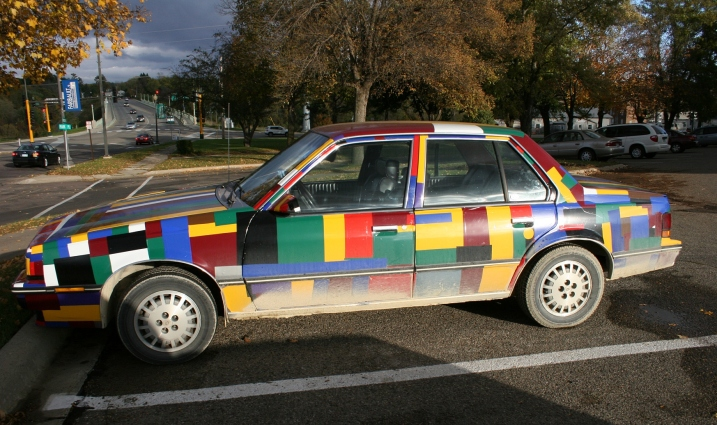 Car art, side view