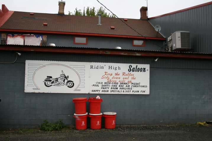 Bikers get a hearty welcome at Ridin' High Saloon.