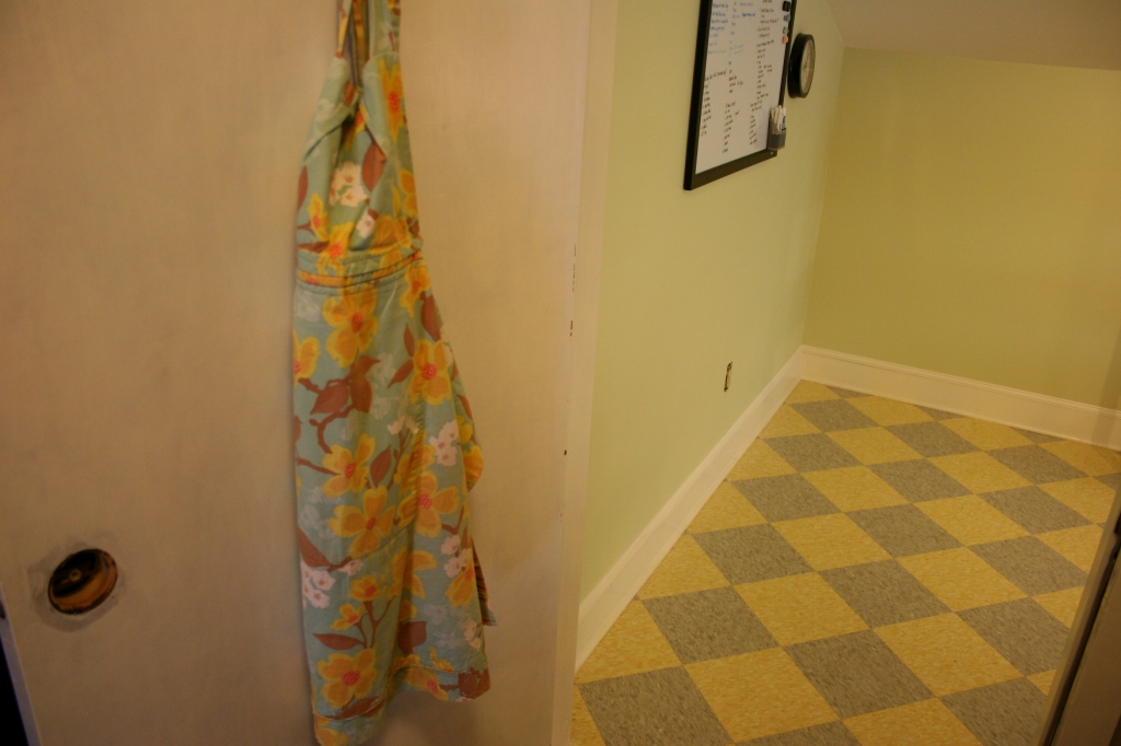 The door opens into Kip's studio.