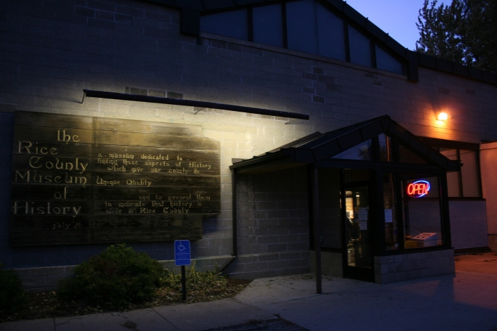 Arriving around 6:30 p.m. Friday for A Night at the Museum at the Rice County Historical Society in Faribault.