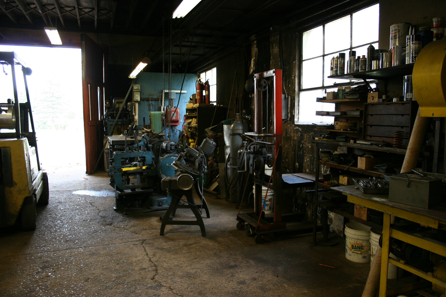 auto machine shop tools