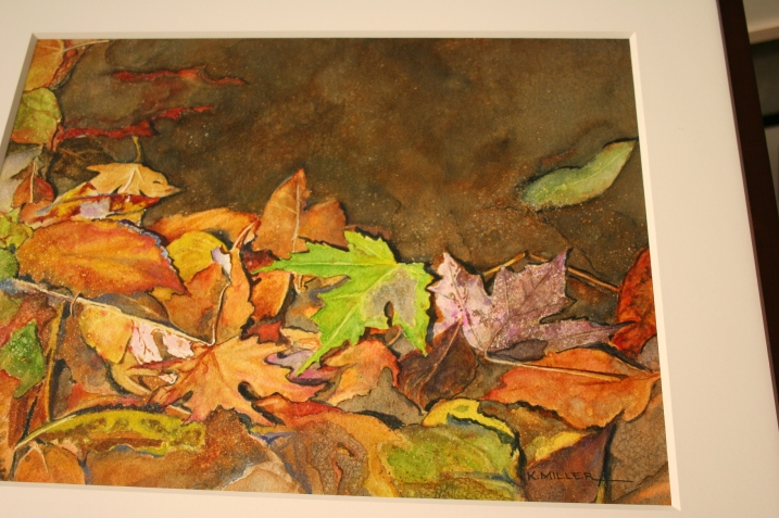 Another view of that vibrant autumn watercolor.