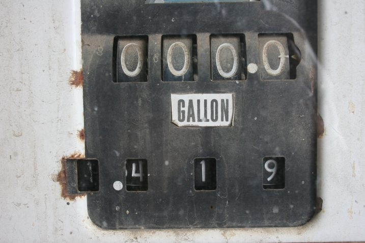 When gas was only