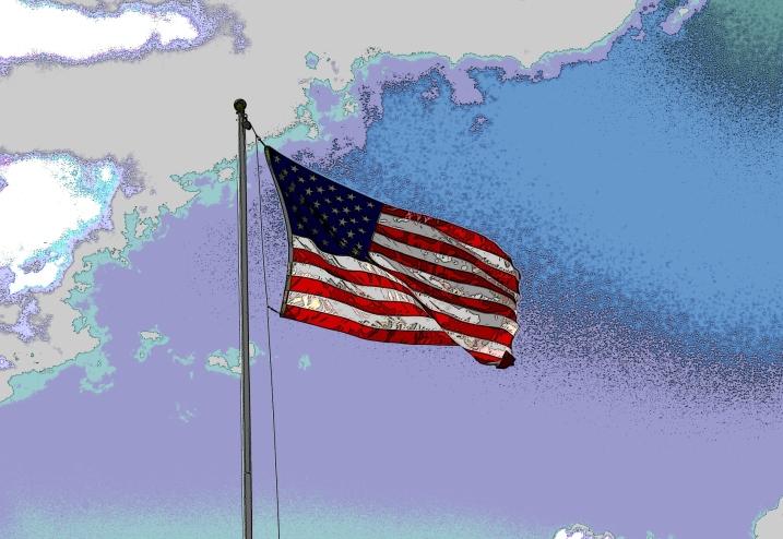 American flag edited
