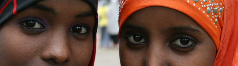 These young Somali women represent the changing face of Faribault. Minnesota Prairie Roots file photo.