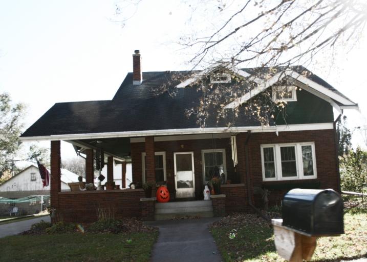 Millville, brick house
