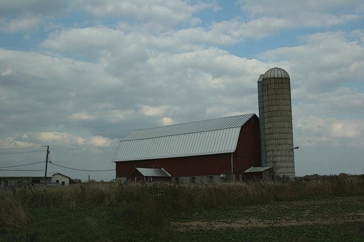 Near Poy Sippi, Wisconsin.