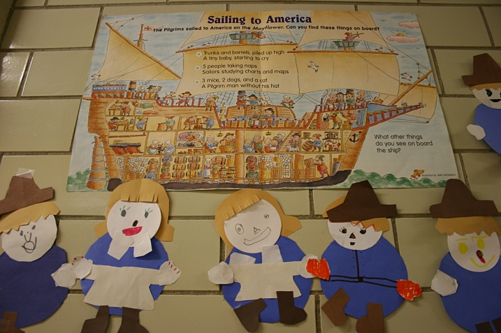 Students' versions of pilgrims.