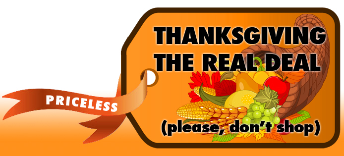 Thanksgiving the real deal logo