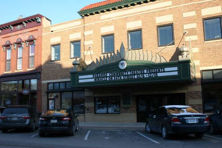 The historic Paradise Center for the Arts in downtown Faribault.