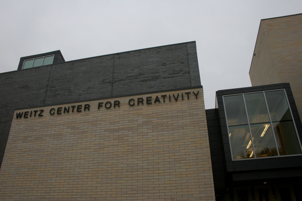 The Weitz Center for Creativity at Third and College Streets in Northfield, Minnesota.
