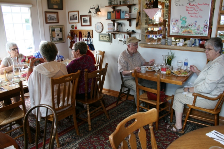 Lunch at The Amboy Cottage Cafe.
