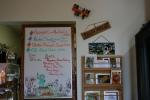 Amboy Cafe, menuboard