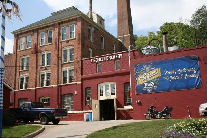 August Schell Brewing Company in New Ulm. Minnesota Prairie Roots file photo.