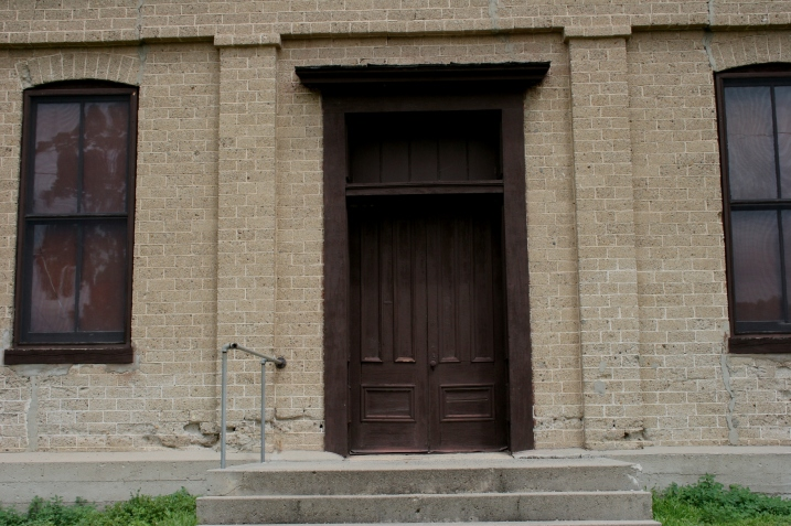 I found the doors of First Baptist Church locked while in Garden City this past July.