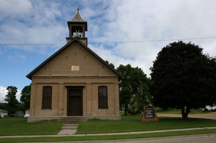 My first glimpse of this historic 1868 church.