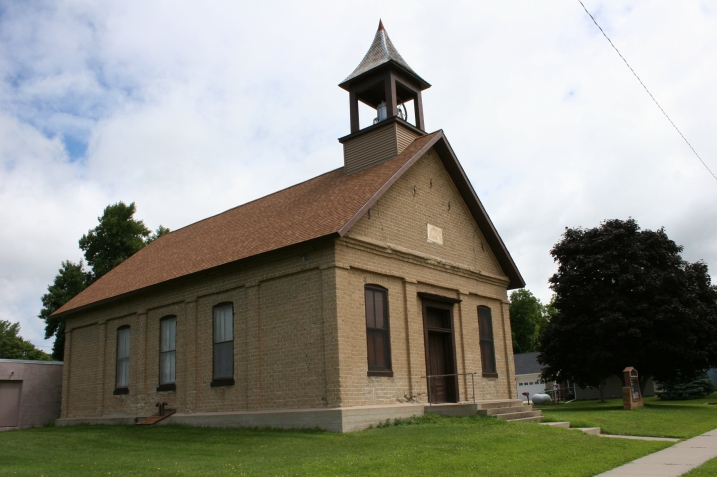 A side view of the church in Garden City, located 60-70 miles from my home.