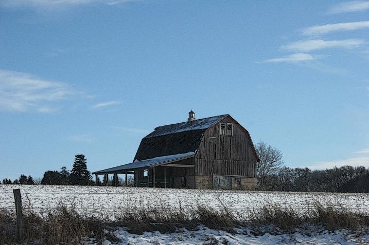 Barn on the way to Northfield