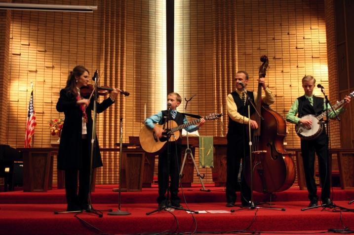 Benson Family Singers Rachelle, left,